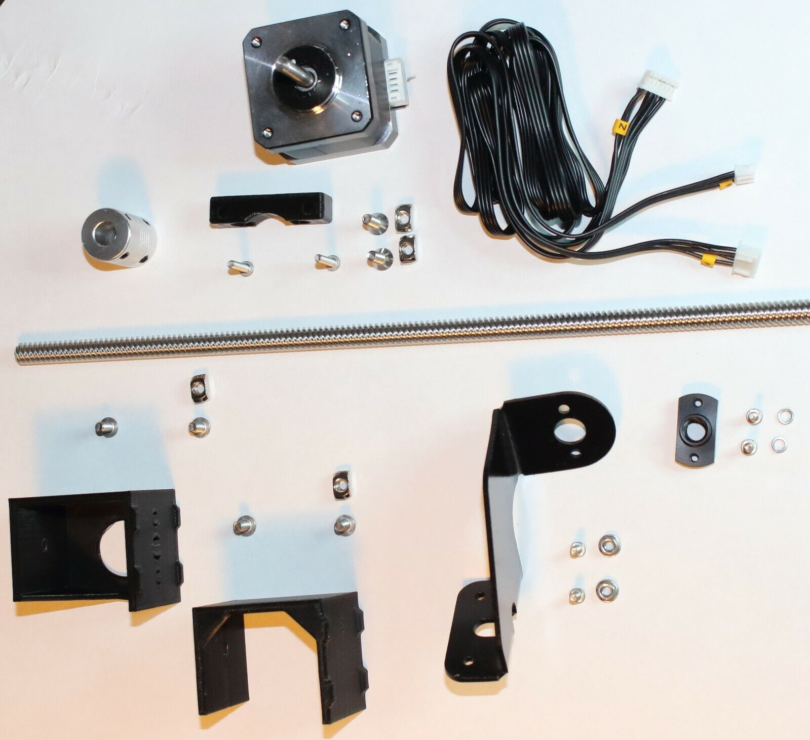 Dual Z-axis upgrade Kit for Creality Ender 3/3-Pro+ incl. power supply brackets