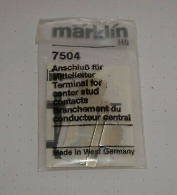 Märklin 7504 H0 K-Gleis Mittelleiter-Anschluss + NEU /& OVP