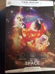 Copieux La Réalité Virtuelle-view Master-espace-expérience Pack-entièrement Neuf Dans Sa Boîte-afficher Le Titre D'origine