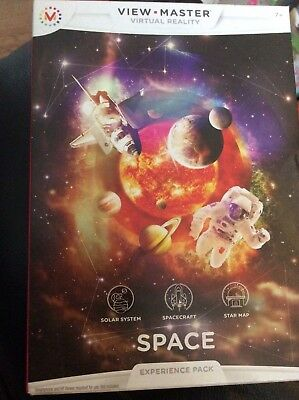 Realtà Virtuale-view Master-spazio-esperienza Pack-nuovo Con Scatola-mostra Il Titolo Originale Non-Stireria