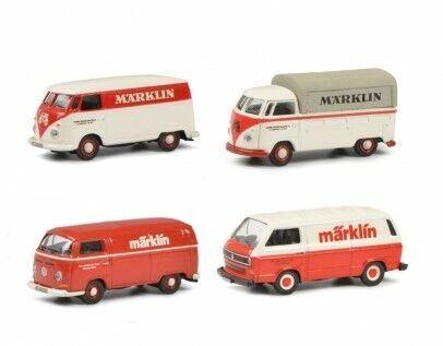 Schuco de 452653800 VW Märklin t1 B y C t2 t3 1:87 metal