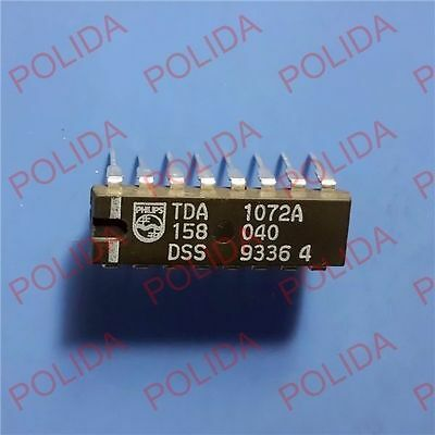 3PCS TDA1072A DIP-16 AM Receiver IC PHILIPS//TFK//TELEFUNKEN TDA1072A//V4