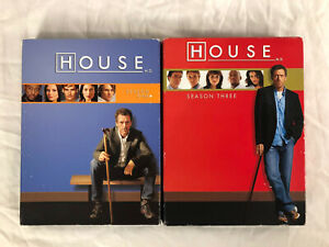 HOUSE-SEASON-1-AND-3-DVD-SETS-COMPLETE
