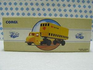 SCAMMEL-SCARAB-RAIL-FREIGHT-1-43-Corgi-Mattel-UK