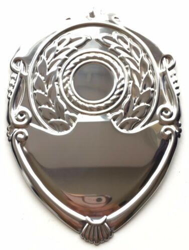 Annual /& Centre Trophy Shield Fronts Personalised Engraved 8 Sizes Available