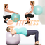 HOME-FITNESS-FIT-BALL-55-95-YOGA-PILATES-GYM-PALLA-SVIZZERA-ANTISCOPPIO-PALESTRA miniatura 6