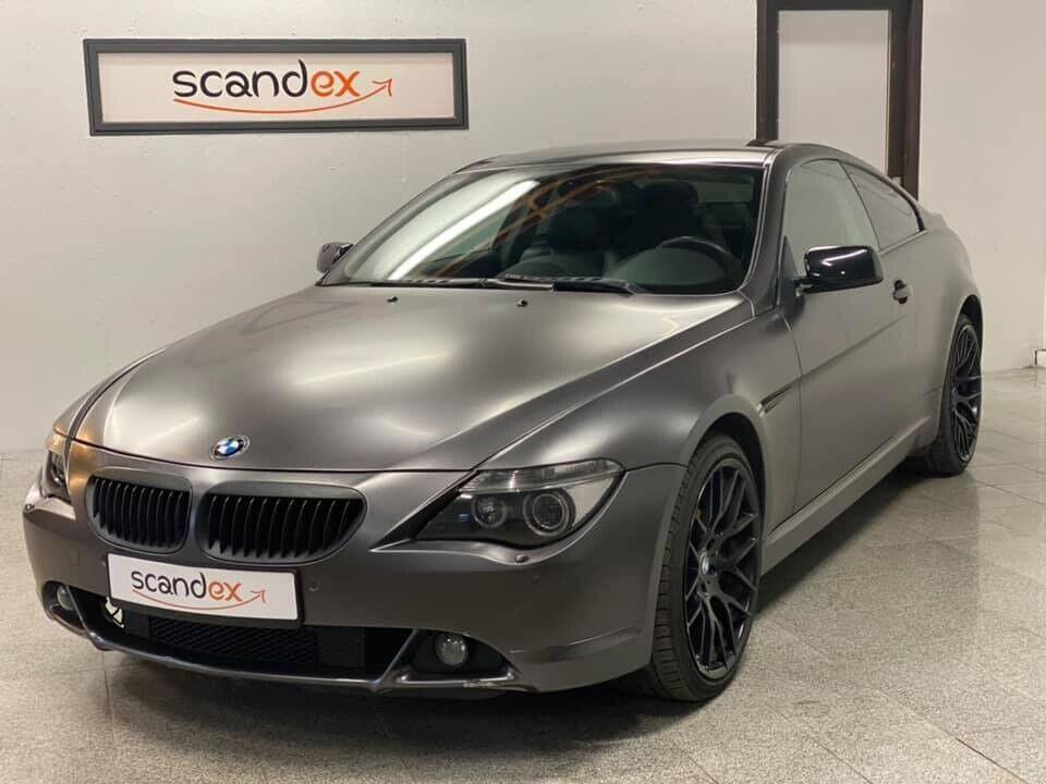 BMW 630i 3,0 Coupé 2d