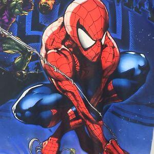 Marvel-Comics-Spiderman-Green-Goblin-Men-039-s-Graphic-Tee-T-Shirt-Large-L-RARE