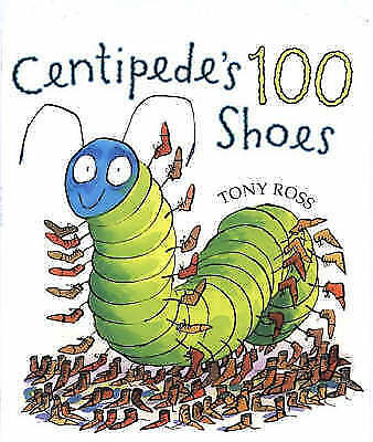 Centipede's 100 Shoes-ExLibrary