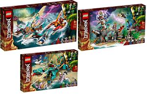 LEGO-Ninjago-71748-Duell-der-Katamarane-71747-71746-Dschungeldrache-VORVERKAUF
