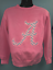 thumbnail 3 - University of Alabama Ladies Pink Sweatshirt with Printed Chevron Pocket Design