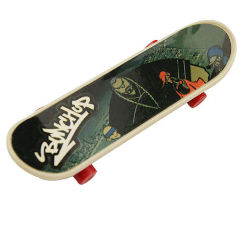 1 X Finger Board Skateboard Party Game Toy for Kids Education Toys Indoor ODCA