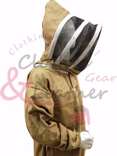 Khaki Bee keeping Suit beekeeper suit bee suit 100/% Cotton Perfect Women