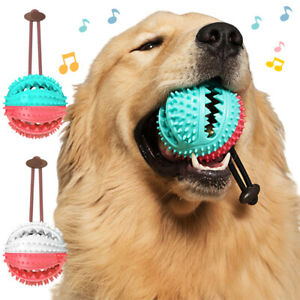 New-Pet-Dog-Multifunction-Leakage-Food-Ball-Suction-Cup-Squeaky-Molar-Chew-Toy