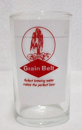 SMALL GRAIN BELT BEER GLASS