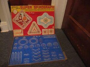 Vintage 1969 Kenner Super Spirograph Plus #2400