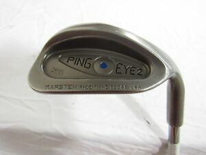 d58b6cfcf053 Used RH Ping Eye 2 XG (Blue Dot) Sand S Wedge Ping Steel Wedge W ...