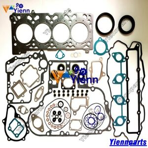 Details about V2607 V2607T full overhaul gasket kit for Kubota engine  bobcat S550 S570 S590