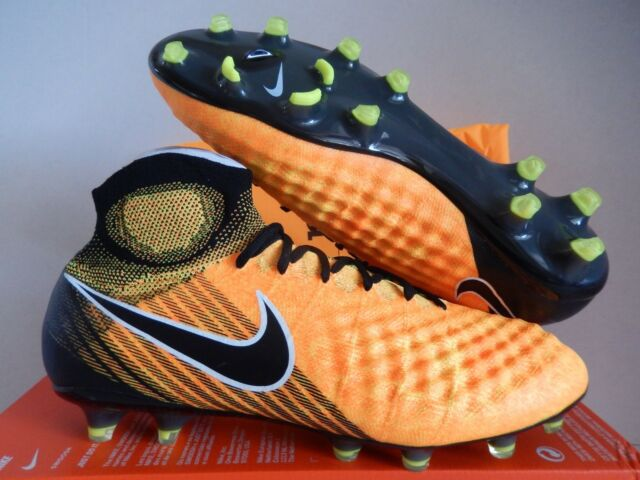 regarder 54a23 a036d Nike Magista Obra II FG ACC Laser Orange Soccer Cleat Sz 7.5 844595 801