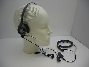 a8d158264fa Plantronics HW251 Headset + HIS-1 cable for Avaya 1608 1616 9620 ...