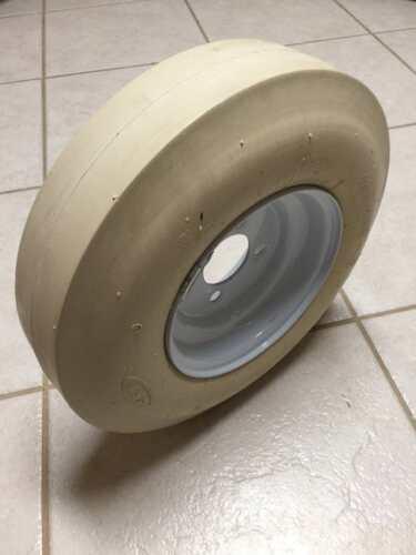 Pitching machine tire /& wheel