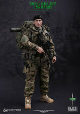 "DAM DAMToys 1/6 Scale 12"" Elite Series  Royal Marines Commando Figure 78023"