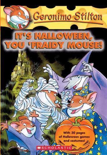 1 of 1 - It's Halloween, You 'Fraidy Mouse! (Geronimo Stilton, No. 11)
