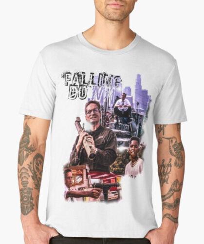 falling down t shirt print art film douglas classic movie tshirt