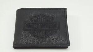 HD-Harley-Davidson-Portemonnaie-Geldbeutel-aus-Leder-EMBROIDERED-B-amp-S-BILLFOLD