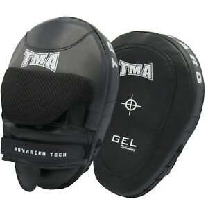 TMA Boxing Strike Curve Arm Pads Thai Kicking Punching MMA Muay Martial Arts US