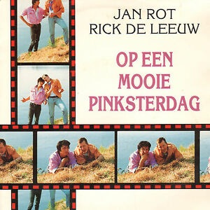 JAN-ROT-RICK-DE-LEEUW-Op-Een-Mooie-Pinksterdag-1991-VINYL-SINGLE-7-034