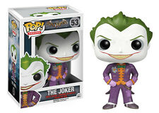 "Funko Pop Heroes Arkham Asylum: Joker Vinyl Action Figure Collectible Toy, 3.75"""