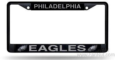 "New Football Philadelphia Eagles Chrome License Plate Frame Metal 12.5/"" x 6/"""