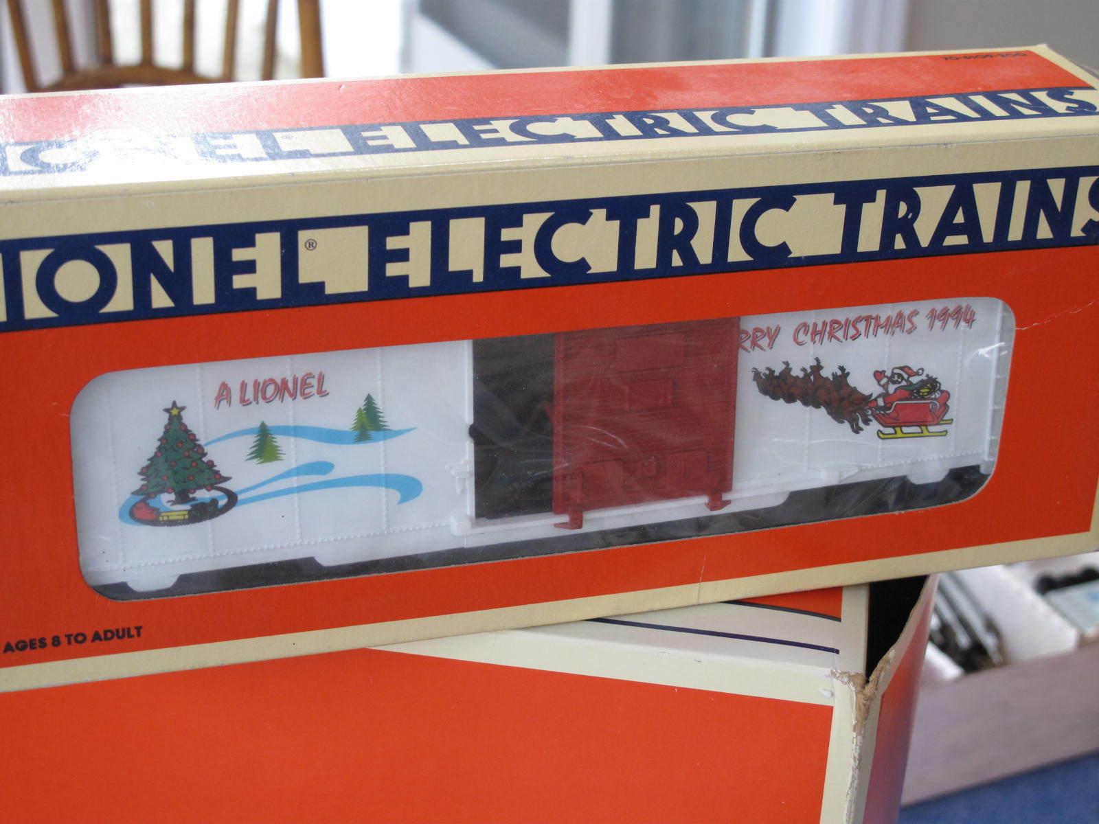 1994 Lionel 6-19929 Merry Christmas Box Car New L0831