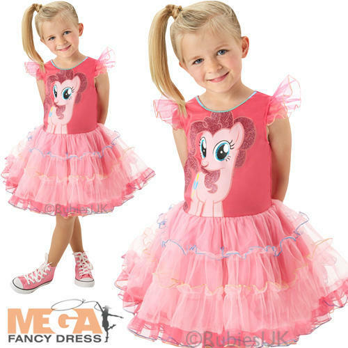 Deluxe Pinkie Pie Bambina MY LITTLE PONY Costume Bambino Kids Costume Outfit