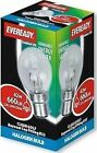 Eveready Energy Save G45 Halogen Golf Bulb BC B22 Bayonet Cap 42w