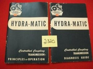1957-GM-DETROIT-TRANSMISSION-HYDRA-MATIC-OPERATION-amp-DIAGNOSIS-GUIDES-REFERENCE