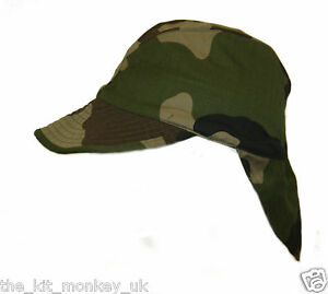 French Army   Foreign Legion Combat Warm Weather Hat CCE Camo peaked ... 97e225c14af