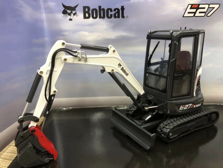 UH8131 - Bobcat E27z Compact Excavator 1 25 Scale Die-Cast Model