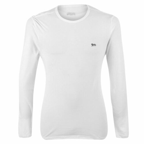 Lonsdale Homme à Manches Longues T Shirt homme à encolure ras-du-cou Léger Training