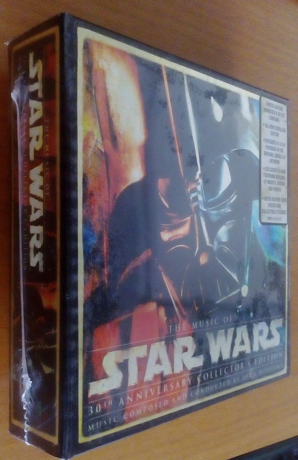 Estrella guerras   30th Anniversary Collector's edizione BRe nuovo SEALED 8 CD LIMITED ED  molte sorprese