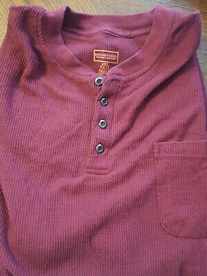 Men's Clothing Big Mens Boulder Creek Trading Company Long Sleeve Shirt 4xl Tall Red Clothing, Shoes & Accessories