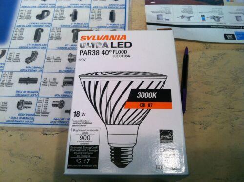 Sylvania 18W LED PAR38 Dimmable 40-degree Flood 3000K 900 Lumens 87CRI