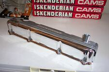 Offenhauser Offy Slant 6 valve cover, finned aluminum polished Dodge, Plymouth