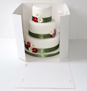 image is loading tall cake boxes tiered stacked cakes giant cupcakes