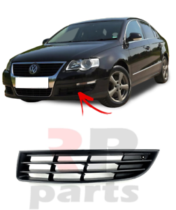 VW PASSAT B6 2005-2010 FRONT BUMPER FOG LIGHT LAMP GRILL COVER LEFT N//S