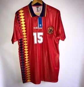 Spain 1994 Adidas Originals Home Replica Jersey | Retro