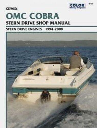 OMC Cobra SX Manual 1994-2000 Lower Unit EI