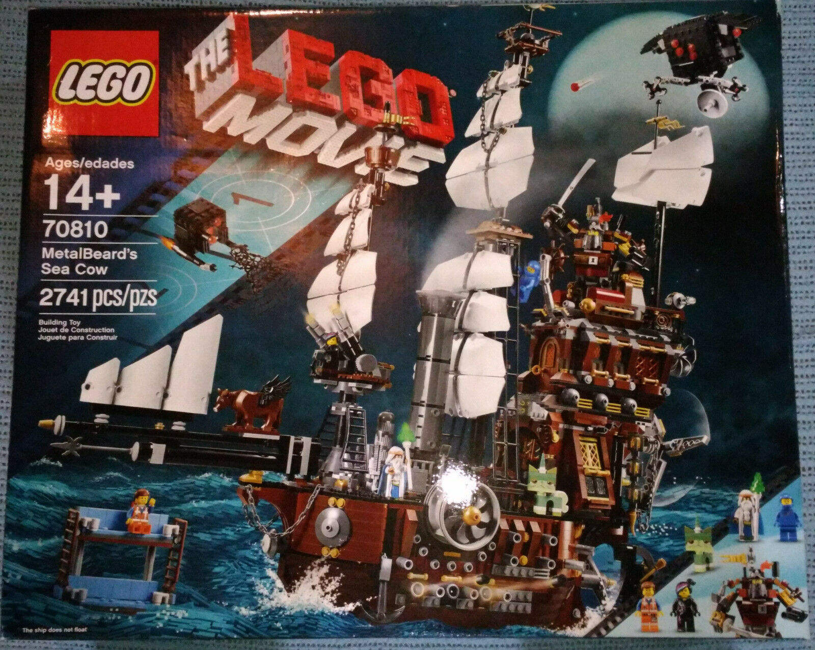 Cow70810Discontinued Movie Metalbeard's Lego The Sea SMqVzUp