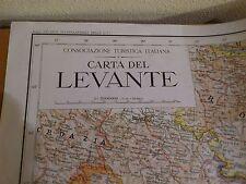 Consociazione Turistica Italiana, Carta del Levante, grande carta geografica '42